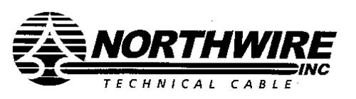 NORTHWIRE INC TECHNICAL CABLE