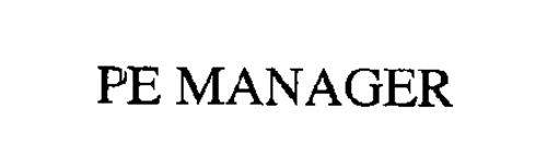 PE MANAGER