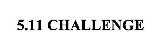 5.11 CHALLENGE