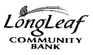 LONGLEAF COMMUNITY BANK
