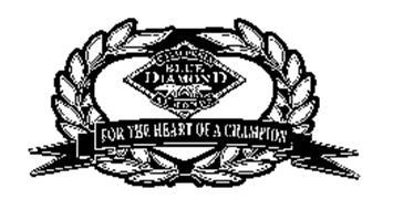 CALIFORNIA BLUE DIAMOND ALMONDS FOR THE HEART OF A CHAMPION