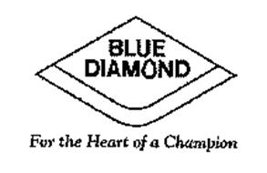 BLUE DIAMOND FOR THE HEART OF A CHAMPION