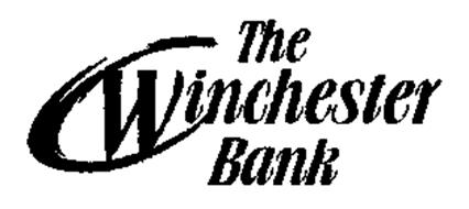 THE WINCHESTER BANK