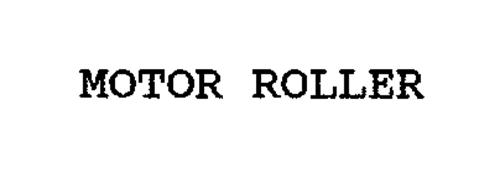 MOTOR ROLLER
