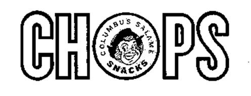 CHOPS COLUMBUS SALAME SNACKS