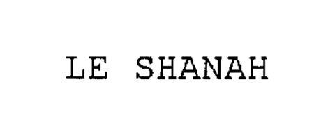LE SHANAH