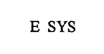 E SYS