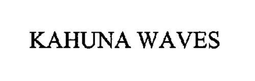 KAHUNA WAVES