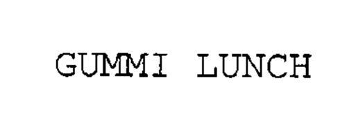 GUMMI LUNCH