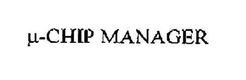 µ-CHIP MANAGER