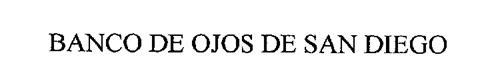BANCO DE OJOS DE SAN DIEGO