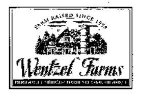 WENTZEL FARMS FARM RAISED SINCE 1958 PREMIUM DUCK PRODUCTS PRODUITS DE CANARD DE MARQUE