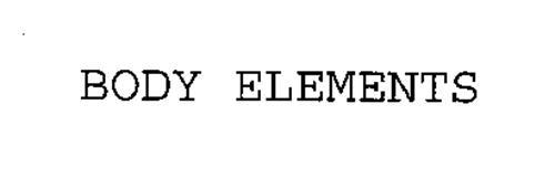 BODY ELEMENTS