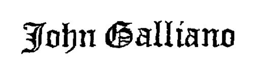 online store 6664c 9e63c John Galliano S.A. Trademarks (17) from Trademarkia - page 1