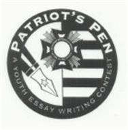 PATRIOT'S PEN A YOUTH ESSAY WRITING CONTEST. VETERANS OF FOREIGN WARS. OF THE UNITED STATES