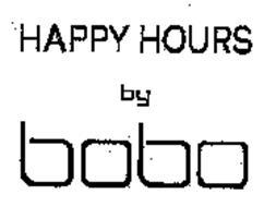 HAPPY HOURS BY BOBO