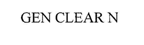 GEN CLEAR N