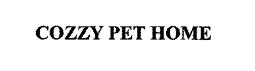 COZZY PET HOME