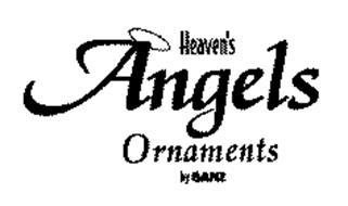 HEAVEN'S ANGELS ORNAMENTS BY GANZ