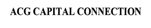 ACG CAPITAL CONNECTION
