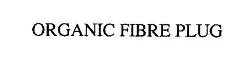 ORGANIC FIBRE PLUG