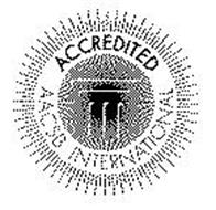 ACCREDITED AACSB INTERNATIONAL