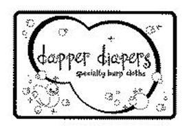 DAPPER DIAPERS SPECIALTY BURP CLOTHS
