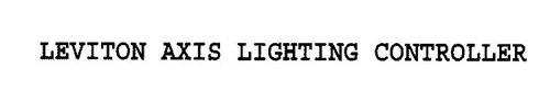 LEVITON AXIS LIGHTING CONTROLLER