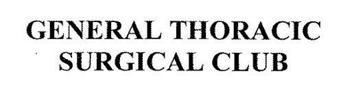 GENERAL THORACIC SURGICAL CLUB