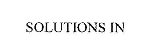 SOLUTIONS IN