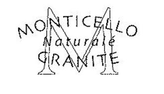 M MONTICELLO NATURALÉ GRANITE