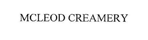 MCLEOD CREAMERY