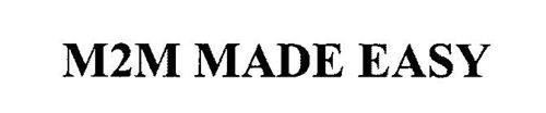 M2M MADE EASY