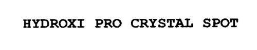 HYDROXI PRO CRYSTAL SPOT