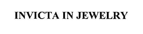 INVICTA IN JEWELRY