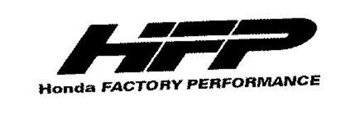 HFP HONDA FACTORY PERFORMANCE