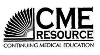 CME RESOURCE CONTINUING MEDICAL EDUCATION