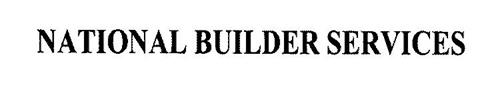 NATIONAL BUILDER SERVICES