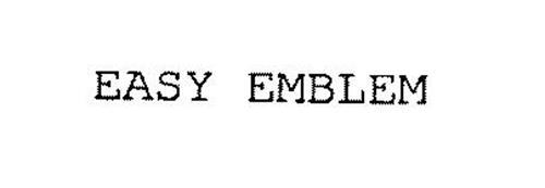 EASY EMBLEM
