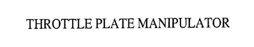 THROTTLE PLATE MANIPULATOR