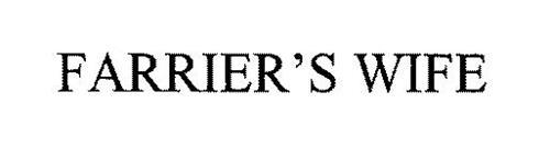 FARRIER'S WIFE