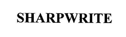 SHARPWRITE
