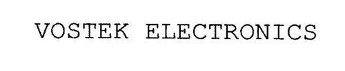 VOSTEK ELECTRONICS