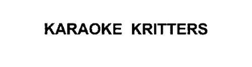 KARAOKE KRITTERS