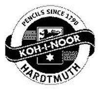 KOH-I-NOOR HARDTMUTH PENCILS SINCE 1790