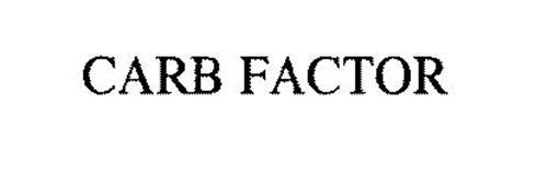 CARB FACTOR