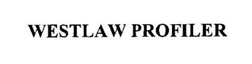 WESTLAW PROFILER