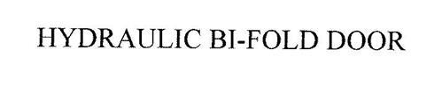 HYDRAULIC BI-FOLD DOOR