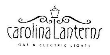 CAROLINA LANTERNS GAS & ELECTRIC LIGHTS