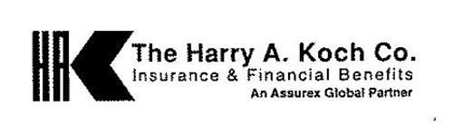 HAK THE HARRY A. KOCH CO. INSURANCE & FINANCIAL BENEFITS AN ASSUREX GLOBAL PARTNER